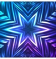 Abstract shining cosmic star vector image