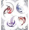 Tattoo Swirls vector image