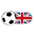 united kingdom soccer team vector image