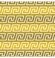 Seamless background with ethnic Greek pattern vector image