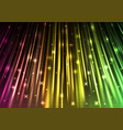 sparkling light speed abstract background vector image