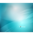 Blue blurred colors abstract background vector image vector image