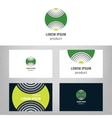 Business abstract logo icon for your company vector image