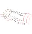 Series Spa Salon Stone massage vector image