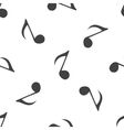 Eighth note pattern vector image
