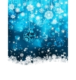 Christmas background with baubles EPS 8 vector image vector image