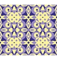 Abstract violet geometrical seamless pattern vector image