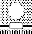 scrap card vector image vector image