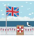 great britain coast vector image
