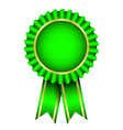 green badge vector image vector image