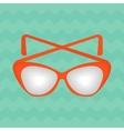 bright summer sunglasses vector image