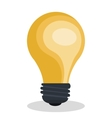 bulb light design vector image