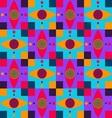 dizzy eyes pettern vector image