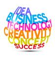 Idea Business Technology Creativity Concept vector image