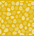 seamless background to easter with eggs 2 vector image
