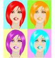 pop art poster vector image