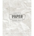 Rumpled paper seamless texture vector image vector image