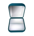 Gift box for the ring vector image