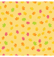 maple leaves background vector image vector image