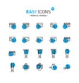 easy icons 12d money vector image