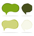 trendy shapes vector image