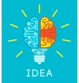 Brain Idea Concept vector image