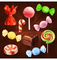 Candies icons vector image vector image