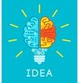 Brain Idea Concept vector image