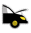 car workshop related icons image vector image