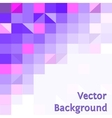 Purple modern geometric design template vector image