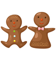 Gingerbread vector image vector image