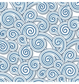 Swirly waves vector image vector image