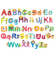 Letters of the alphabet vector image