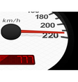 background with speedometer vector image vector image