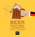 Beer Festival EPS10 vector image