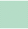 Seamless pattern polka dots vector image