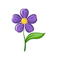 Simple Flower vector image vector image