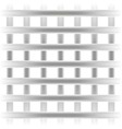 gray square grille texture background straight vector image