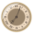 Isolated old clock vector image