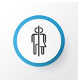 wc icon symbol premium quality isolated restroom vector image