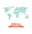 Christmas infographic vector image