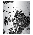 Bark of birch in the cracks texture vector image