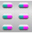 Pills vector image