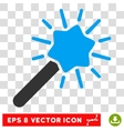Wizard Wand Eps Icon vector image