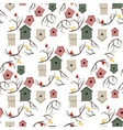 Nesting box seamless pattern vector image