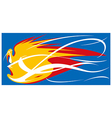 Fireball Mascot vector image
