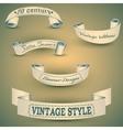set of vintage bannerseps 10 vector image
