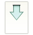 paper with arrow vector image