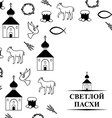 easter orthodox vector image