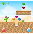 Arcade Game World vector image